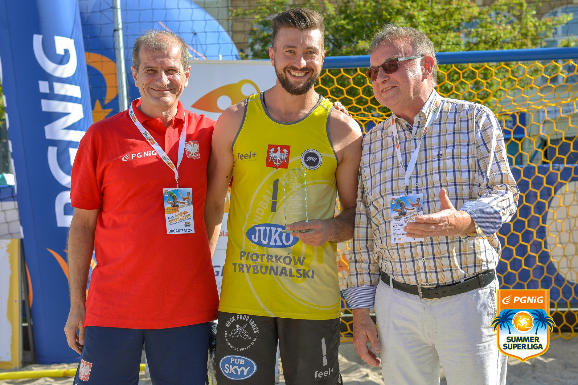 Na zdjęciu Marcin Kobylarz (po prawej)
